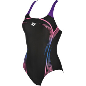 arena Modular One Piece Swimsuit Women black-paparazzi